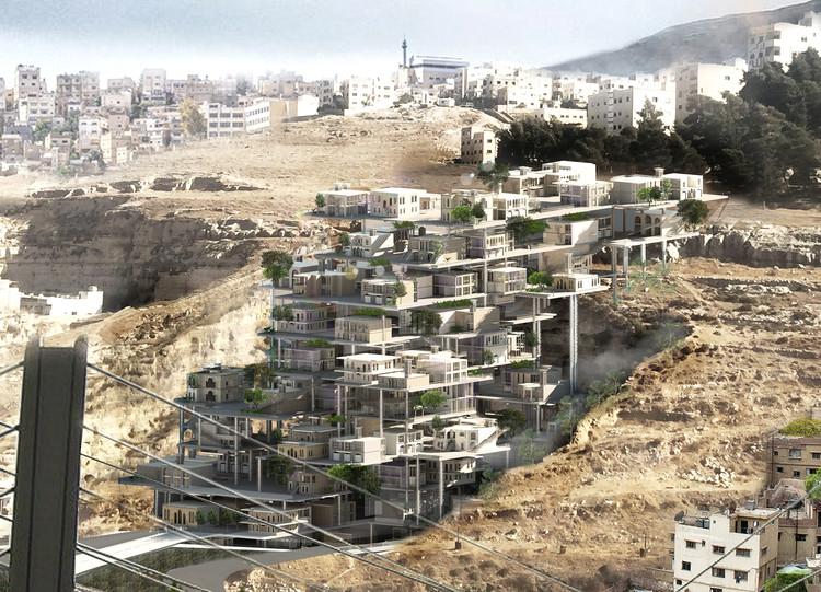 Amman Living Quary. Image Courtesy of eVolo