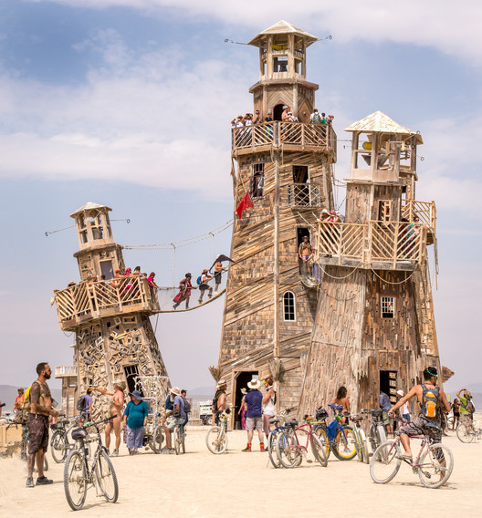 Building Burning Man: The Unique Architectural Challenges of Setting Up a City in the Desert