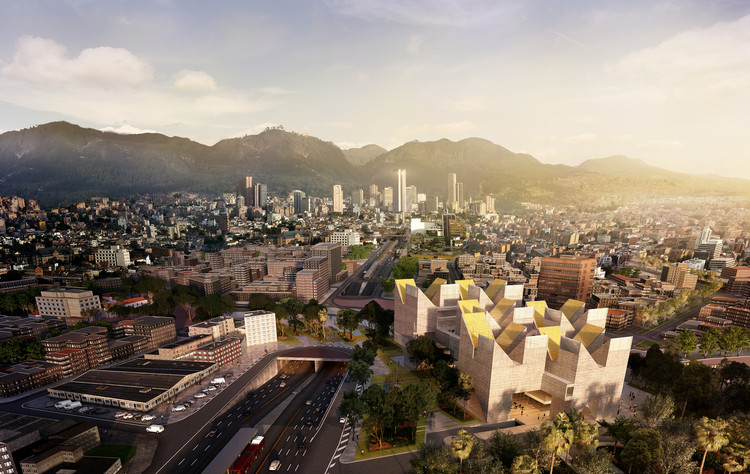 6 Upcoming Projects that Will Improve the Quality of Life in Colombia, Museo Nacional de la Memoria / MGP + estudio.entresitio. Image Cortesía de MGP Arquitectura y Urbanismo / estudio.entresitio