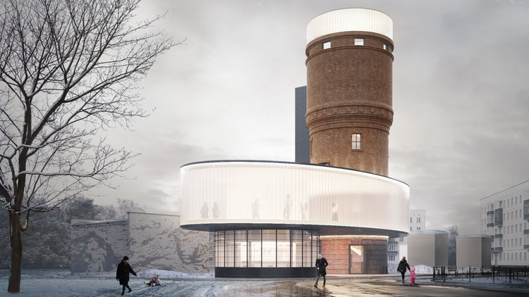IND Architects to Renovate Historic Water Tower in Moscow, Courtesy of IND Architects