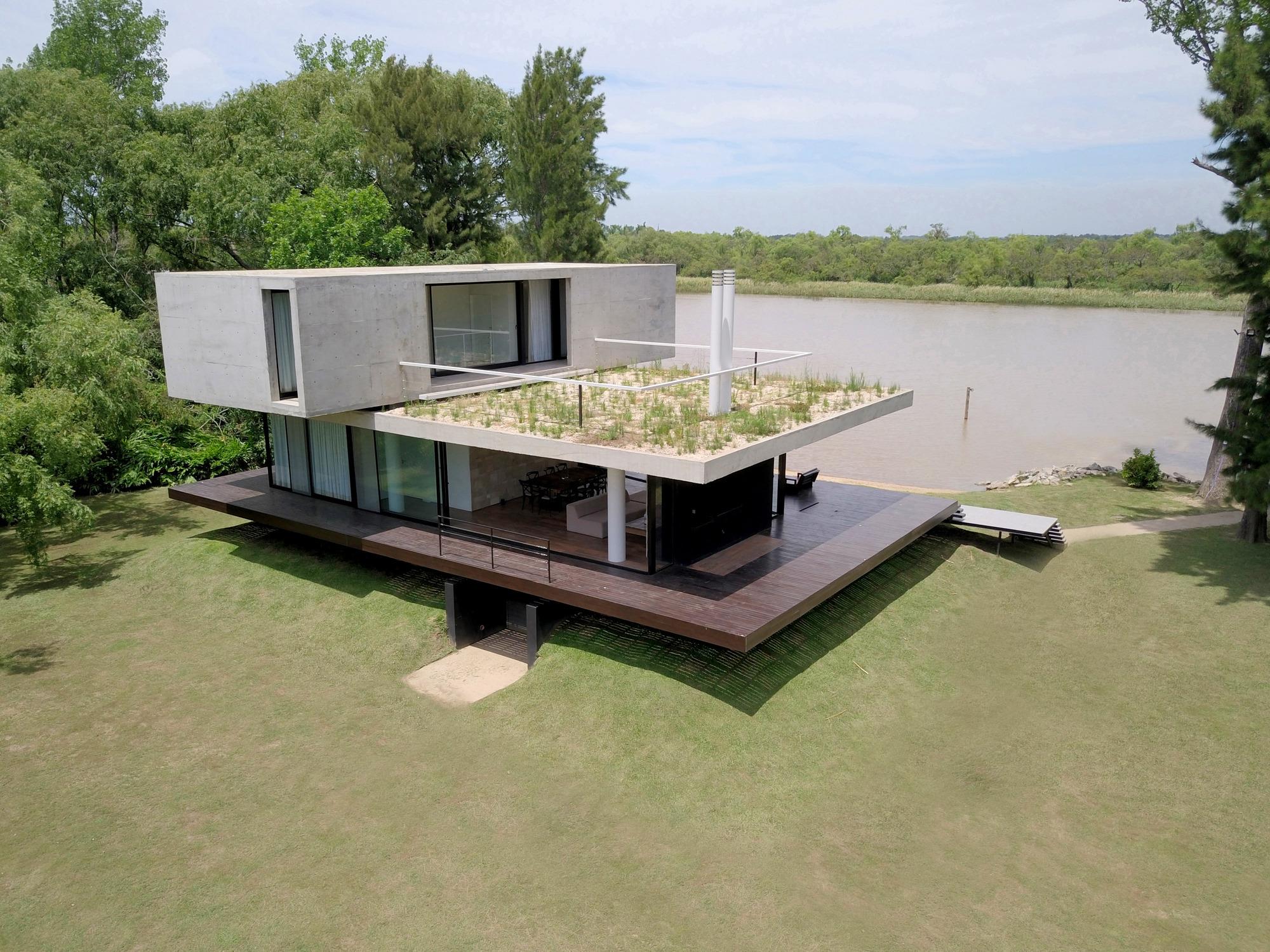 Casa en el delta estudio cucciolla plataforma arquitectura - Costo al mq costruzione casa ...