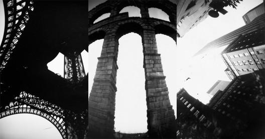 Torre Eiffel (París), el Acueducto de Segovia (España) y Nueva York (Estados Unidos). Image © Fotolateras