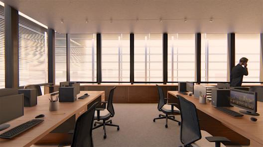 Oficinas. Image Cortesía de TDA
