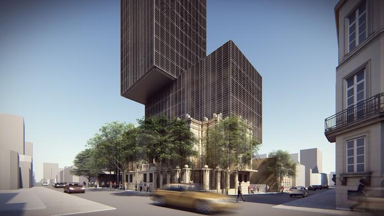 TDA + asociados diseñará las oficinas centrales del Banco Nacional de Fomento (BNF) en Paraguay, Cortesía de TDA