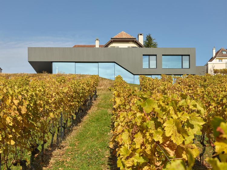 Muller Villa / Andrea Pelati Architecte, © Thomas Jantscher