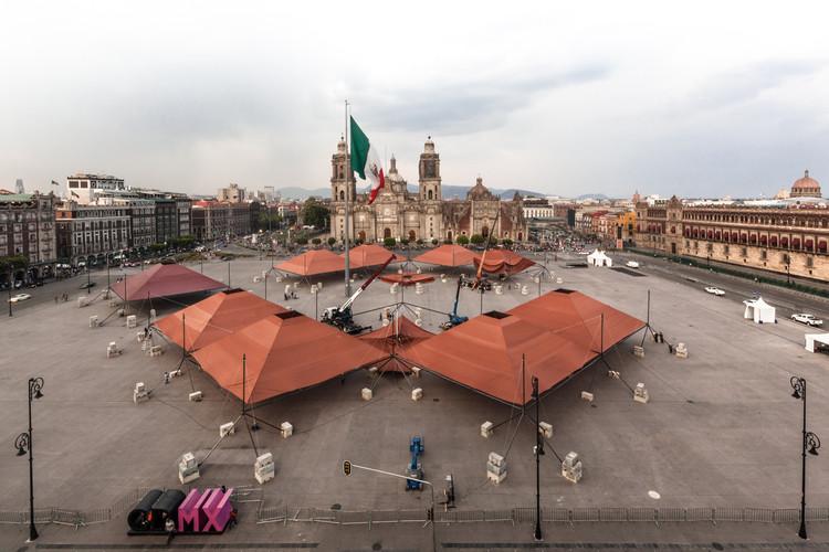 TO construye el pabellón 'UR' para la Feria de las Culturas Amigas 2018, © Onnis Luque