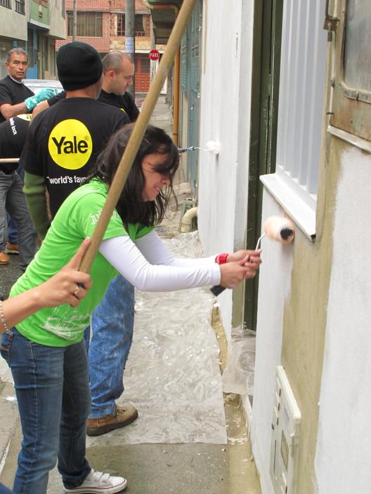 Mejoramiento de vivienda Yale en Colombia. Image © Fundación Juligon
