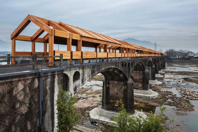 Can Architecture Save China's Rural Villages? DnA's Xu Tiantian Thinks So,Bridge at Shimen Village. Image © Wang Ziling