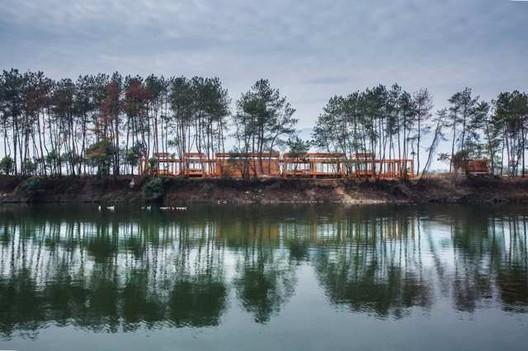 Pine Park Pavilion. Image © Wang Ziling