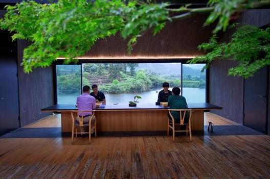 Teahouse, Damushan Tea Valley. Image © Jiang Xiaodong