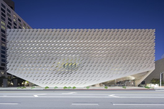 The Broad Museum in Los Angeles, California. Image © Iwan Baan
