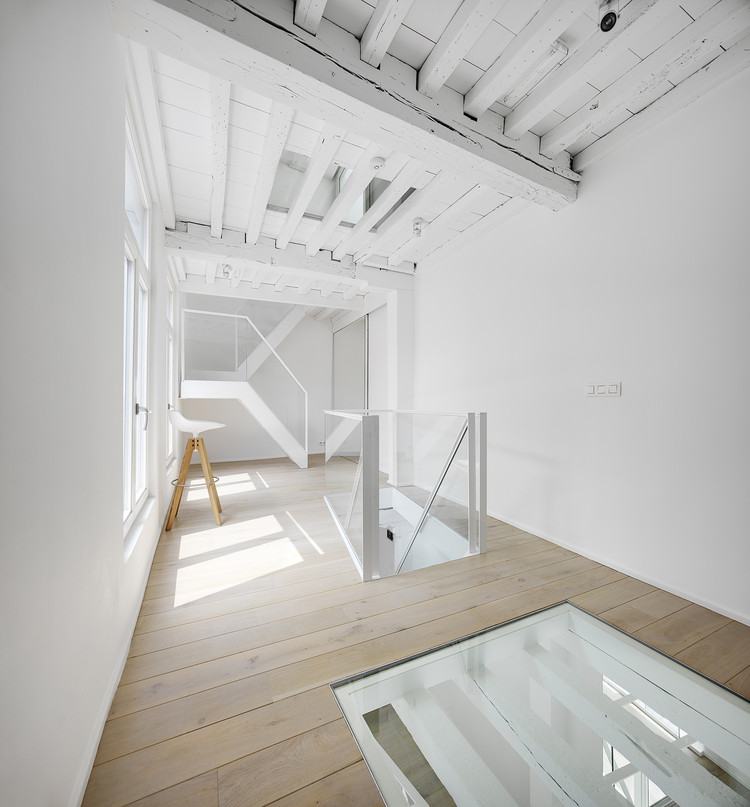 One Room Hotel / dmvA-architects, © Bart Gosselin