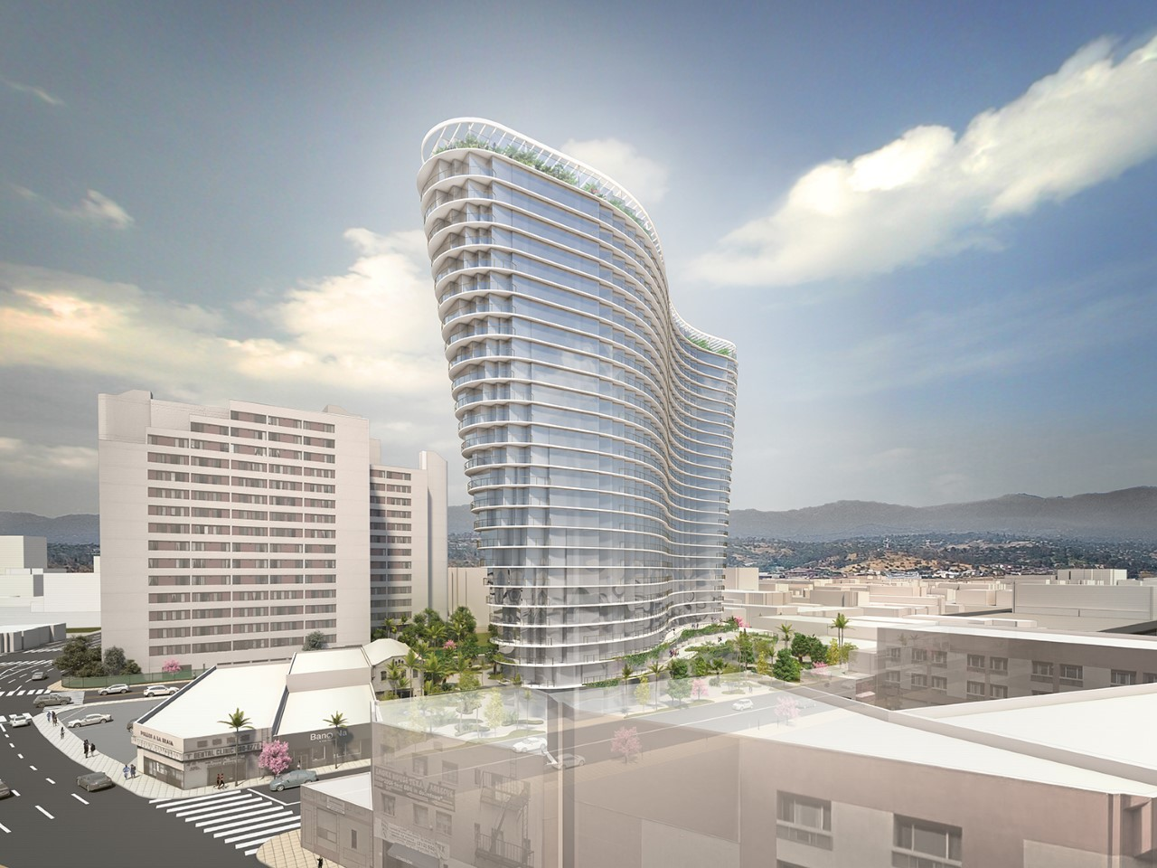 Gallery Of Studio Gang S Curved Mixed Use Tower To Be