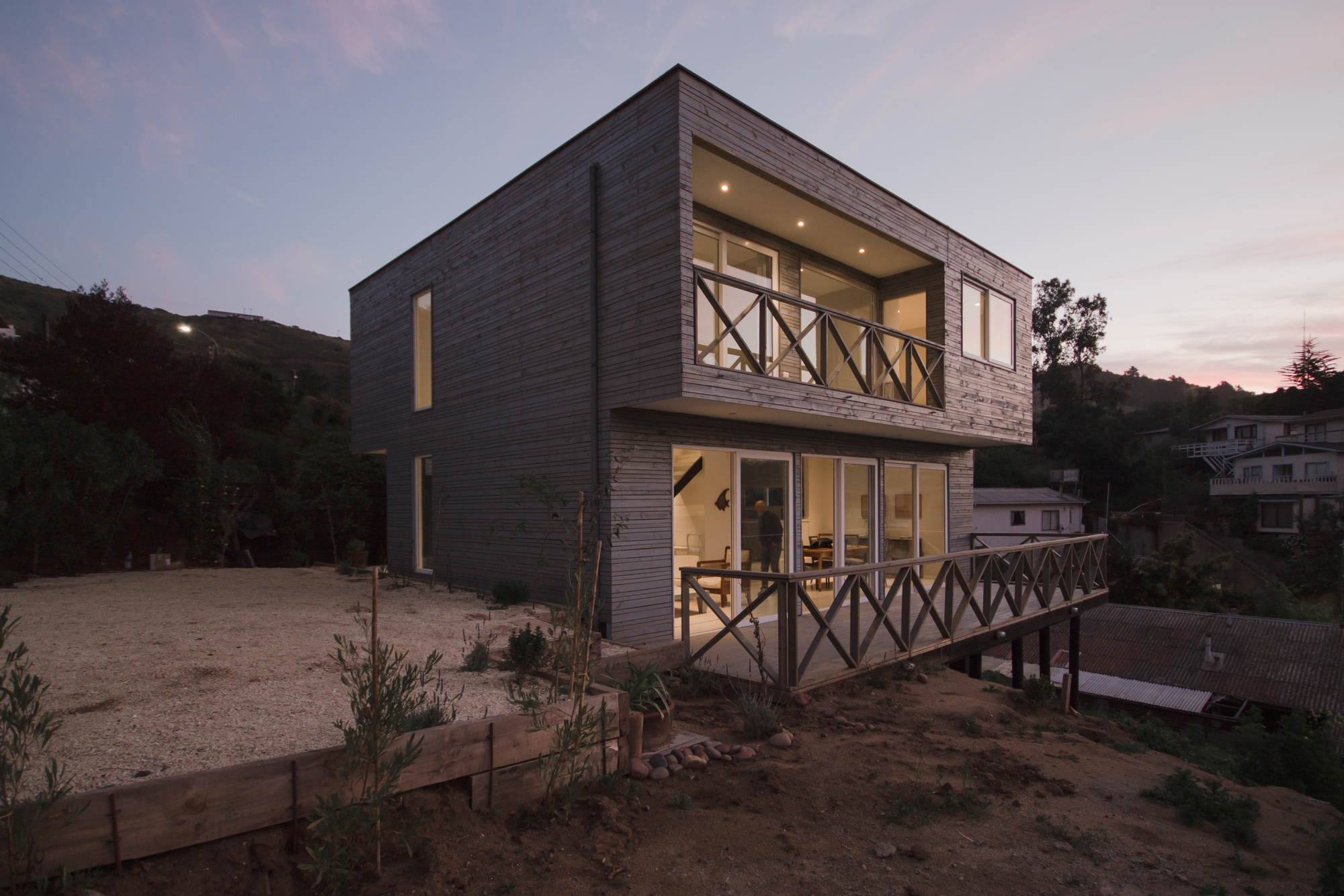 Galeria de casa zapallar paarq arquitectos 1 for Arquitectos para casas