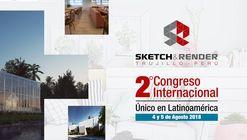II Congreso Internacional de sketch & rénder en Perú