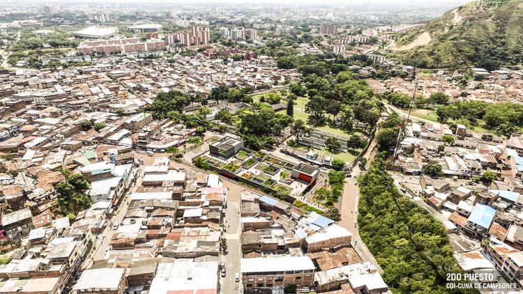 Conoce el segundo lugar del diseño de Centro de Desarrollo Infantil Jaime Rentería en Cali, Colombia, Cortesía de Equipo Segundo Lugar