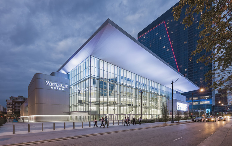 Wintrust Arena / Pelli Clarke Pelli Architects, © Jeff Goldberg/ESTO