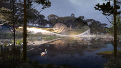 3XN and GERNER GERNER PLUS Reveal Competition Design for Undulating Aquarium in Vienna