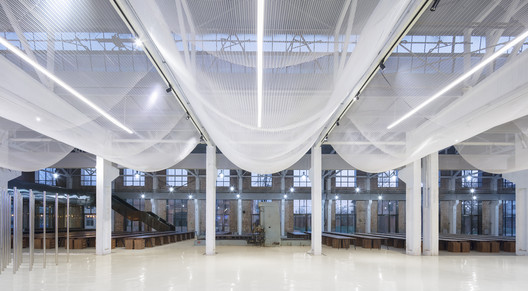 'Re-Veil' Factory Regeneration / Superimpose Architecture