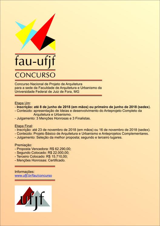 Concurso de projeto para a construção da sede da FAU/UFJF, FAU-UFJF Concurso / Gustavo Abdalla