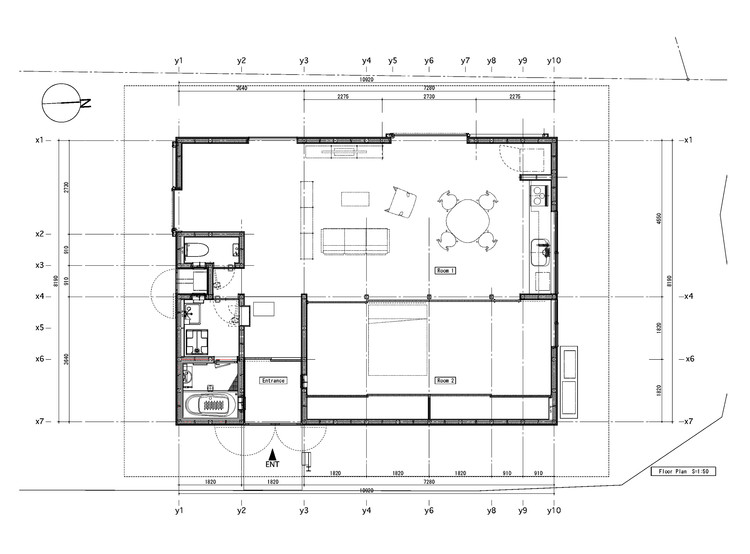 House Plans Under 100 Square Meters: 30 Useful Examples