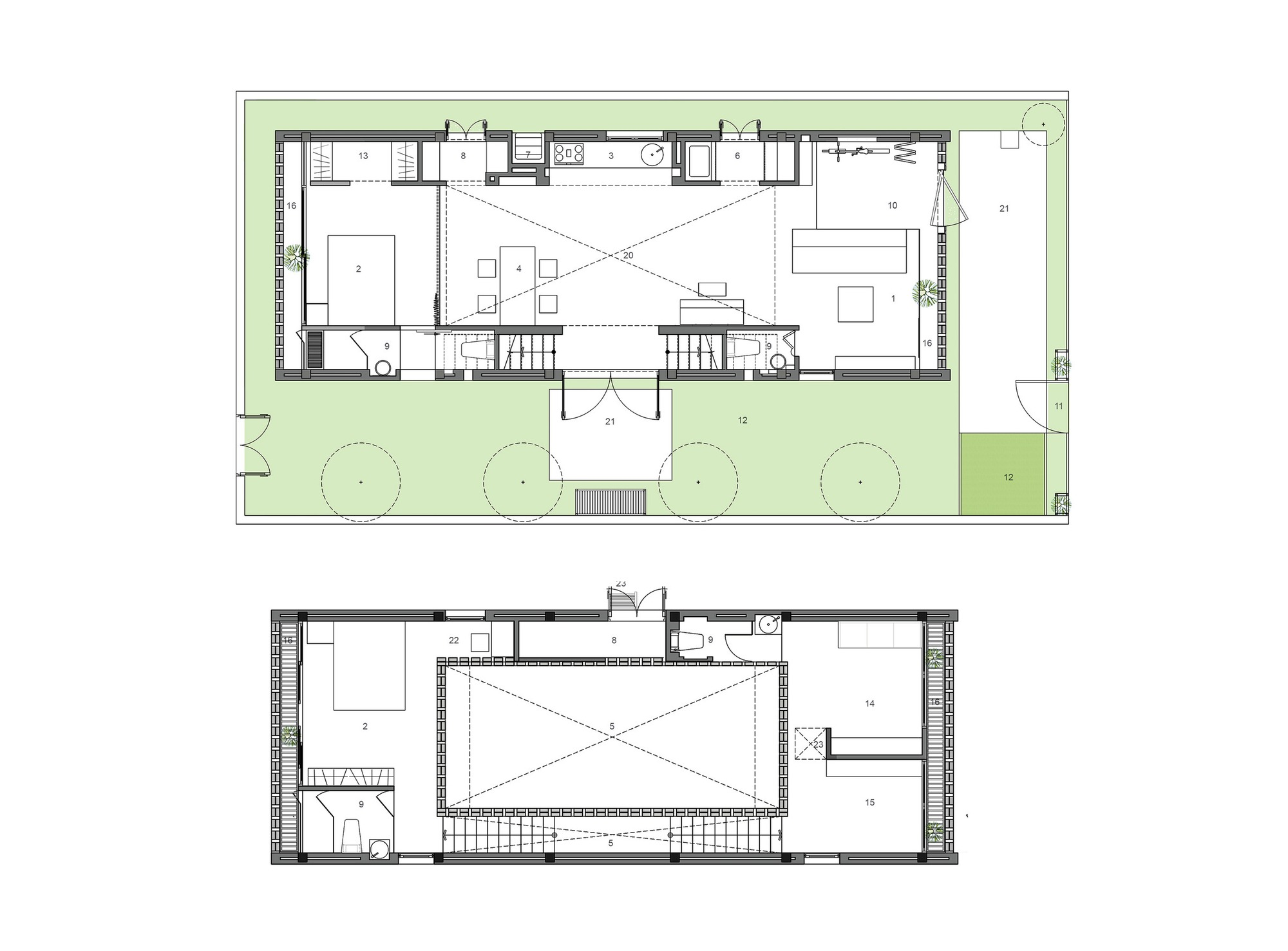 Home Design Under 60 Square Meters 3 Examples That: Gallery