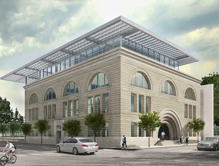 Igreja de Louis Sullivan será convertida no primeiro museu de música gospel dos EUA, Cortesia de Wight & Company