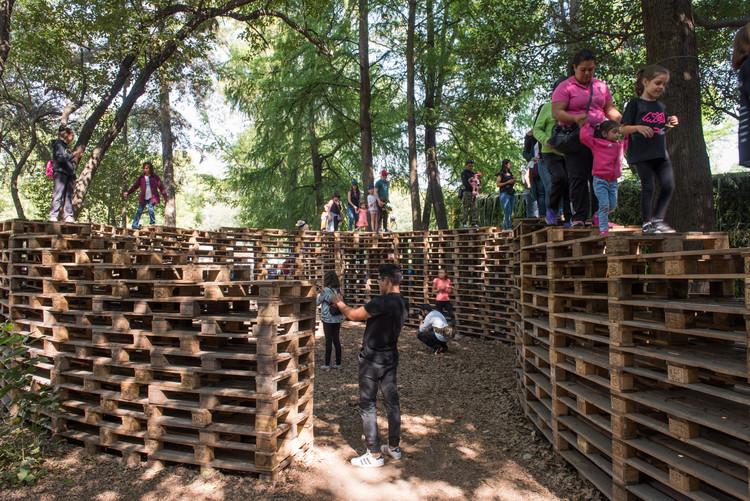Pabellón 'Refugio 2018' de Fernanda Canales + Claudia Rodríguez para la FYJA 2018, © Jaime Navarro