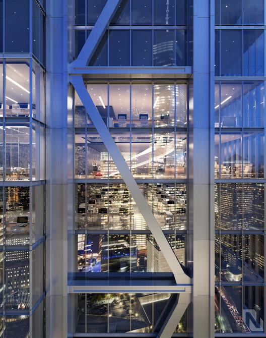 RSHP revela nuevas imágenes de la futura tercera torre del World Trade Center en Nueva York, Cortesía de Silverstein Properties