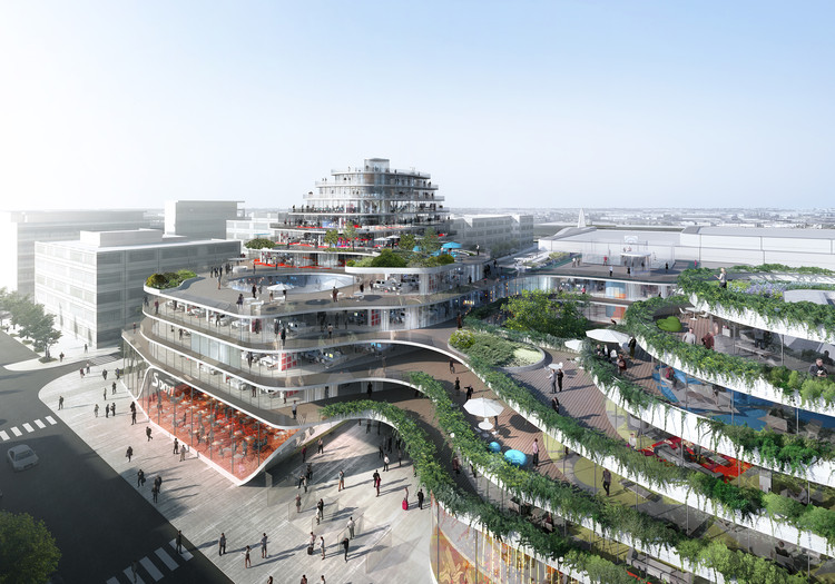Hamonic + Masson Architects Awarded Project in Imagine Angers Competition, Courtesy of Luxigon