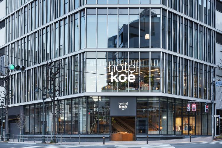 Hotel Koe Tokyo / Suppose Design Office, © Kenta Hasegawa (OFP.,Ltd)