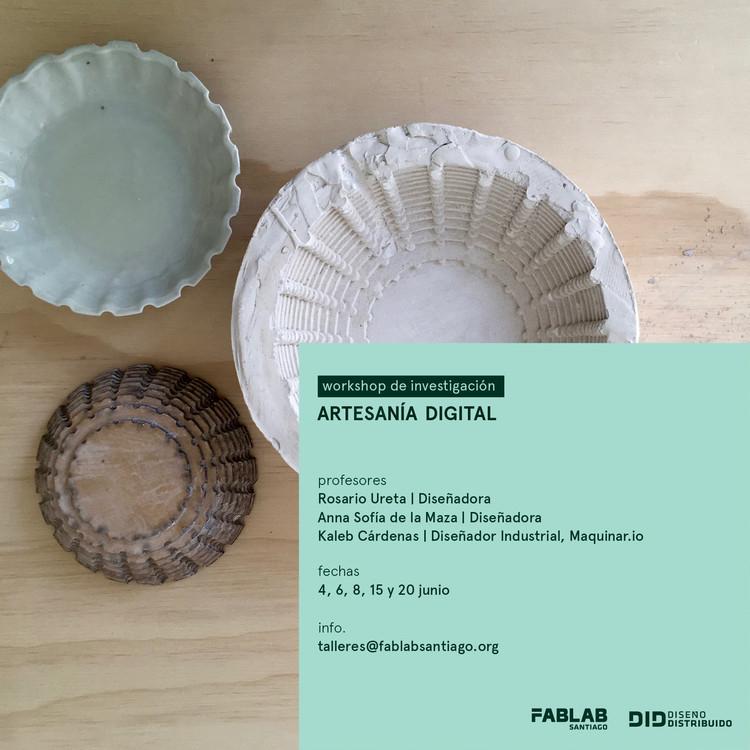 Workshop de Investigación | Artesanía Digital, Rosario Ureta
