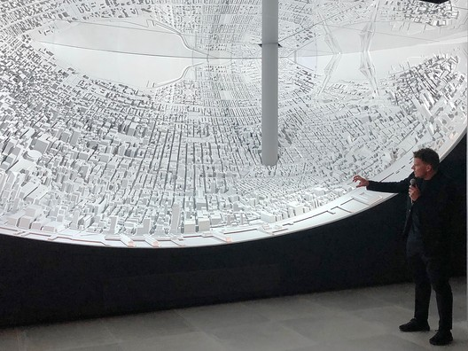 Bjarke Ingels' Twisting High Line Towers Presented in New Art Installation