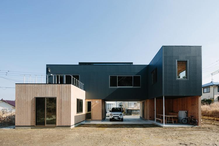 House for Y / kurosawa kawara-ten, © Kai Nakamura
