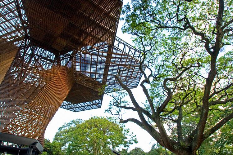 10 obras colombianas adaptadas a su paisaje, Orquideorama / Plan:b arquitectos + JPRCR Arquitectos. Image © Cristóbal Palma / Estudio Palma