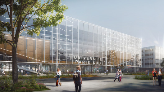 Bernard Tschumi Team Wins Competition for University Research Complex in Paris