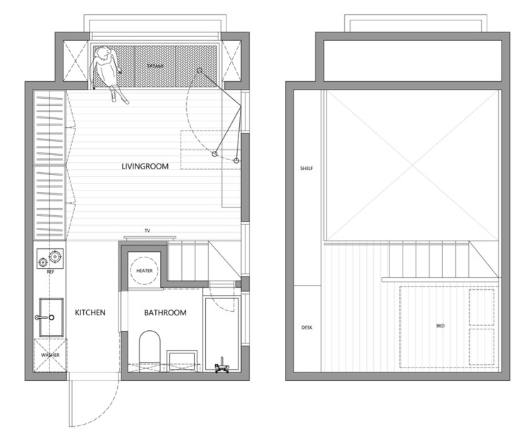 House Plans Under 50 Square Meters: 26 More Helpful ...
