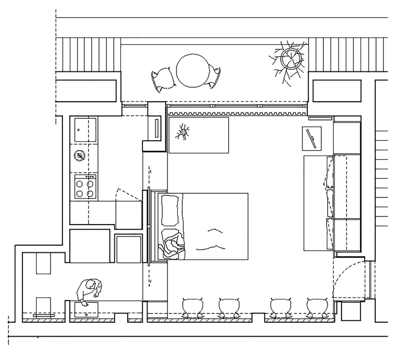 Gallery Of House Plans Under 50 Square Meters 26 More
