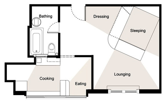 House Plans Under 50 Square Meters: 26 More Helpful Examples ... on bunkhouse plans, log home plans, small home blueprints, small houses on trailers, small home design, small dogs, retirement home plans, small cottages, mobile home plans, floor plans, small houses on wheels, boat plans, chicken coop plans, small appliances, small dream homes, home remodel plans, custom home plans, small prefab houses, luxury home plans,