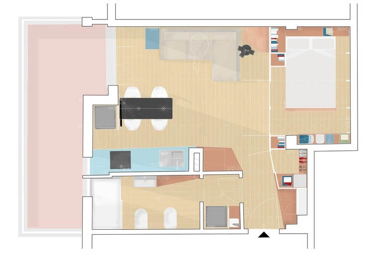 House Plans Under 50 Square Meters 26 More Helpful Examples Of Small Scale Living Archdaily