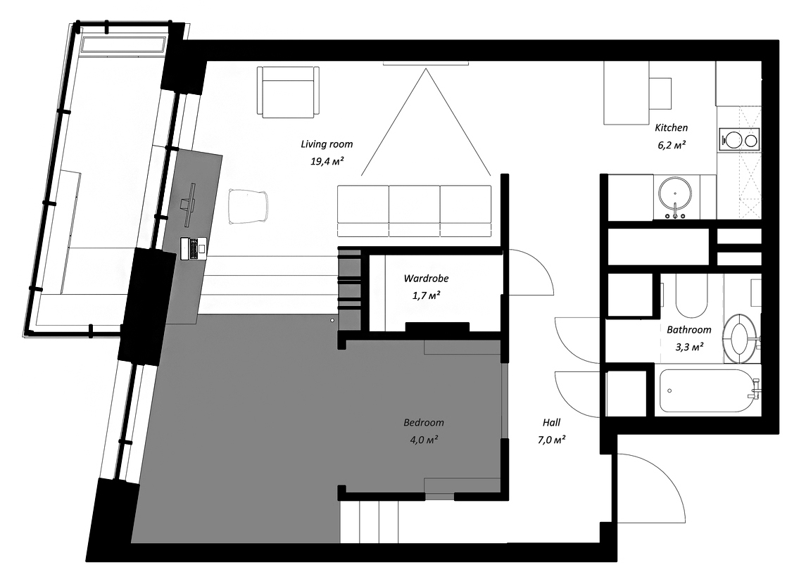 Gallery of House Plans Under 50 Square Meters: 26 More Helpful