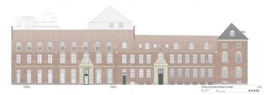 Valkendorfsgade facade elevation