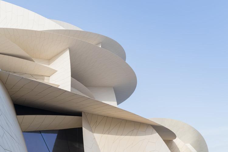 Se revelan imágenes del proyecto para el Museo Nacional Qatar de Jean Nouvel, © Iwan Baan