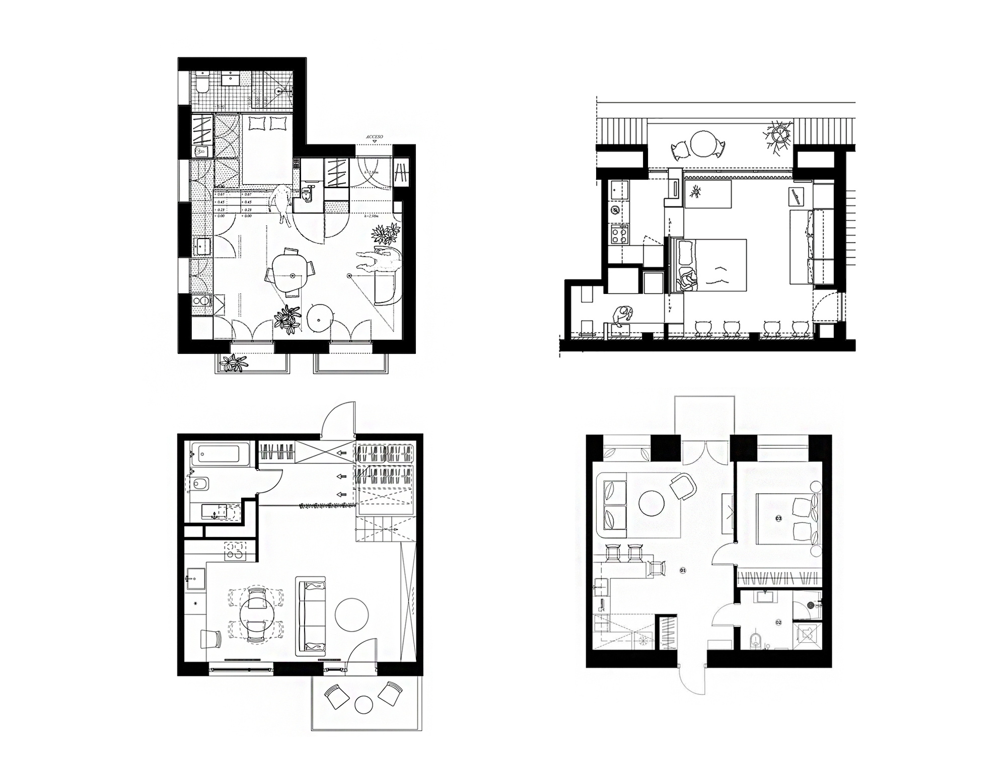 A  Bedroom House Plans Under X Feet on