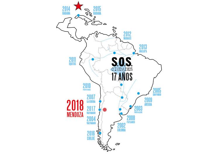SOS CIUDADES 2018: la nueva dimensión regional / Mendoza, vía SOS CIUDADES 2018
