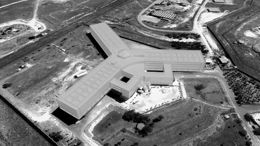 Saydnaya Prison, as reconstructed by Forensic Architecture using acoustic modelling. Image © Forensic Architecture