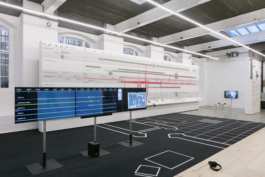 Counter Investigations: Forensic Architecture at the Institute of Contemporary Arts. Image © Mark Blower