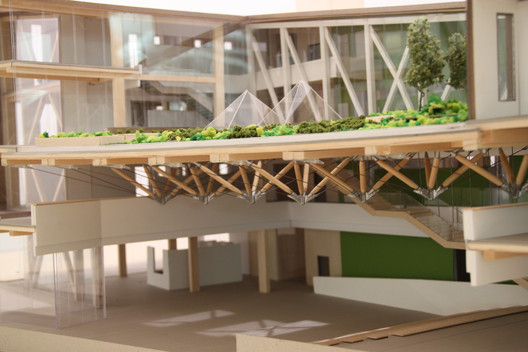 Design Building at UMass Amherst by Leers Weinzapfel Associates / Model by Matt Vocatura. Image courtesy of Matt Vocatura