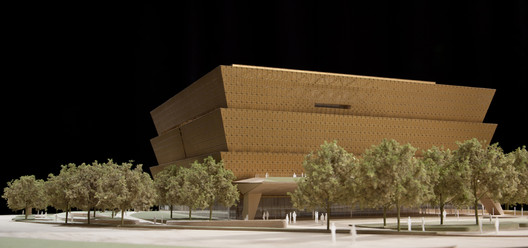 Smithsonian National Museum of African American History and Culture by Freelon Adjaye Bond/SmithGroup / Model by Radii Inc. Image courtesy of Radii Inc.
