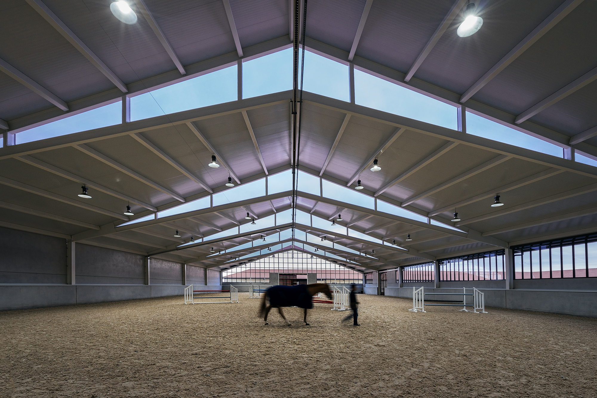 Horse Stables In Finca Ganadera Ooiio Arquitectura Archdaily